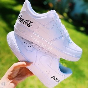 COCA COLA / PEPSI Customs Nike Air Force 1